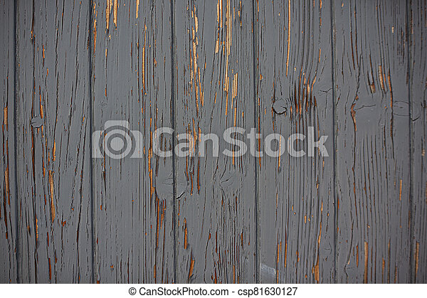 Wood texture with peeling paint 2 - csp81630127