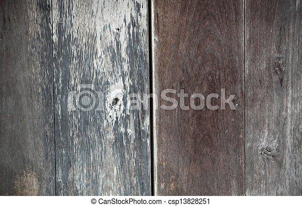 Wood wall texture - csp13828251