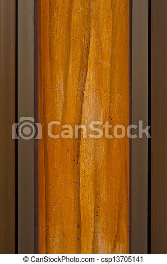 Wood wall texture - csp13705141