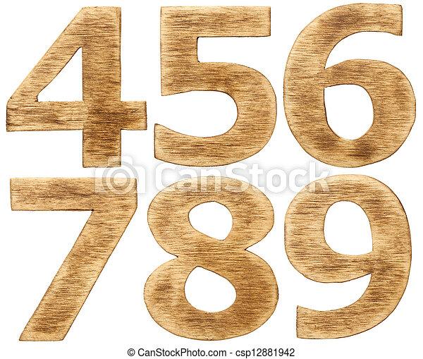 Wooden alphabet - csp12881942