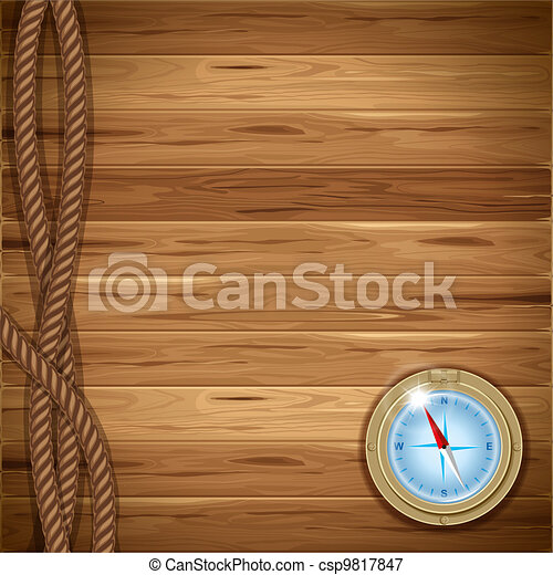 Wooden background - csp9817847