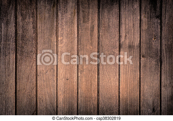 wooden background - square format old, grunge wood - csp38302819