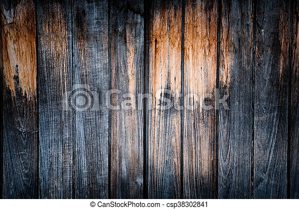 wooden background - square format old, grunge wood - csp38302841