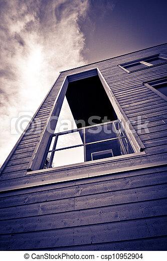 Wooden balcony - csp10952904
