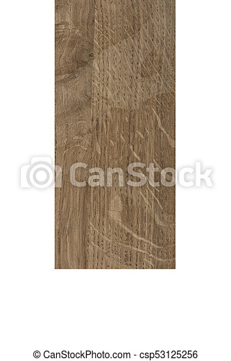 wooden bar isolated on white background - csp53125256