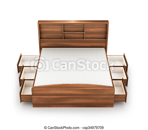 Superb Wooden Bed Stock Photos And Images. 40,933 Wooden Bed Pictures And Royalty  Free Photography Available To Search From Thousands Of Stock Photographers.