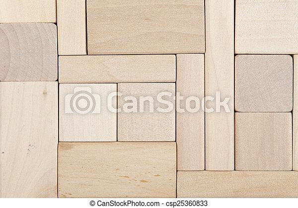 wooden blocks background csp25360833