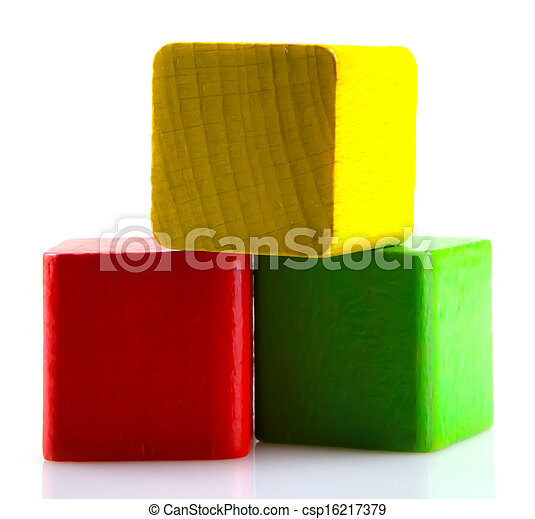 Wooden Blocks - csp16217379