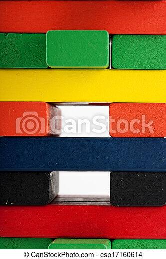 Wooden blocks - csp17160614