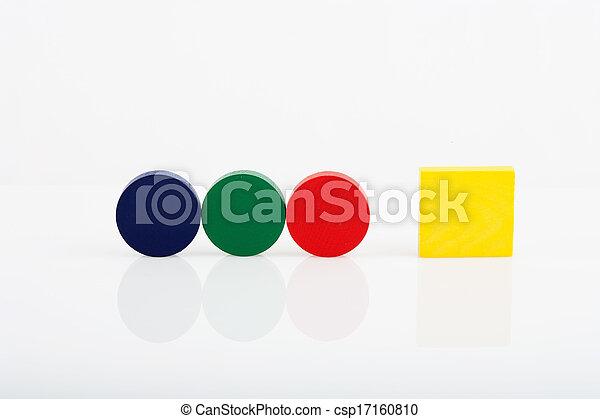 Wooden blocks - csp17160810
