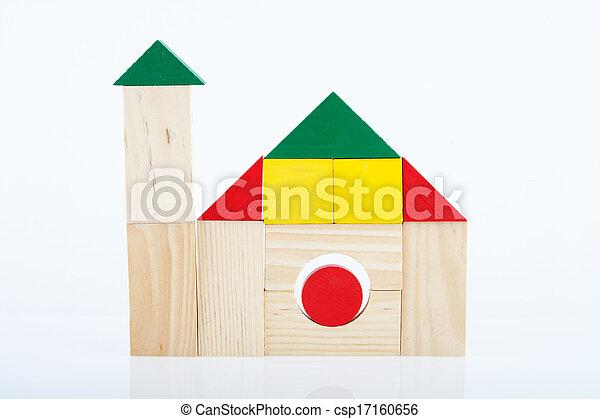 Wooden blocks - csp17160656
