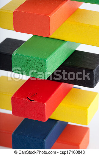 Wooden blocks - csp17160848