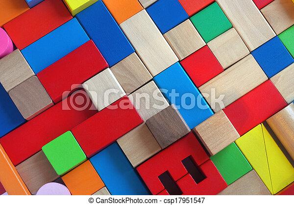 Wooden blocks - csp17951547