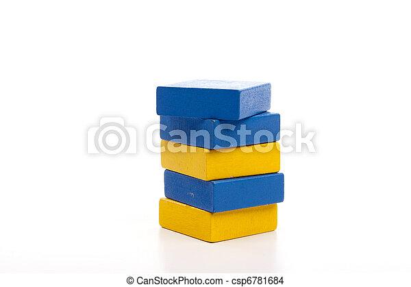 Wooden blocks - csp6781684