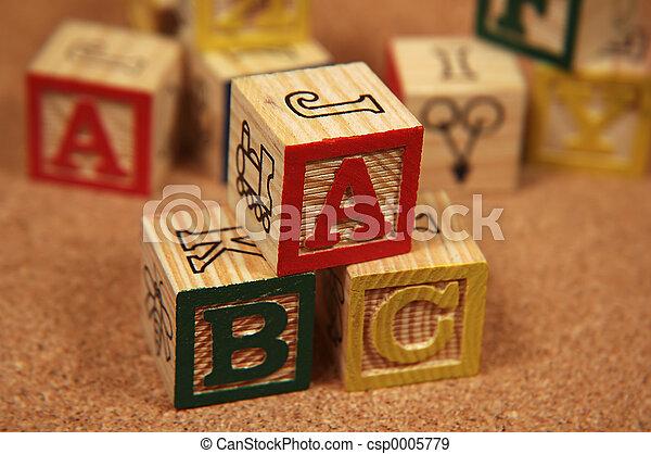 Wooden Blocks - csp0005779