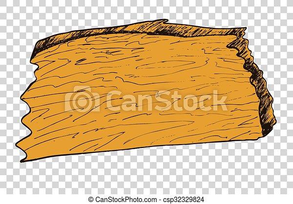 Wooden Board - csp32329824
