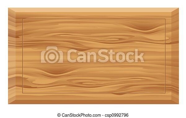 Wooden board - csp0992796