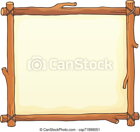 Wooden board theme image 2 - csp71899051