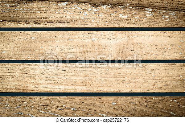 Wooden boards background, old grunge wood - csp25722176