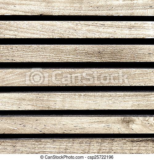 Wooden boards background, old grunge wood - csp25722196
