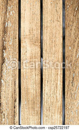 Wooden boards background, old grunge wood - csp25722197