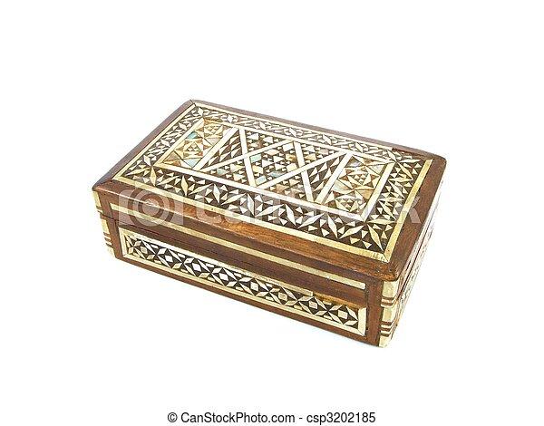 wooden box - csp3202185