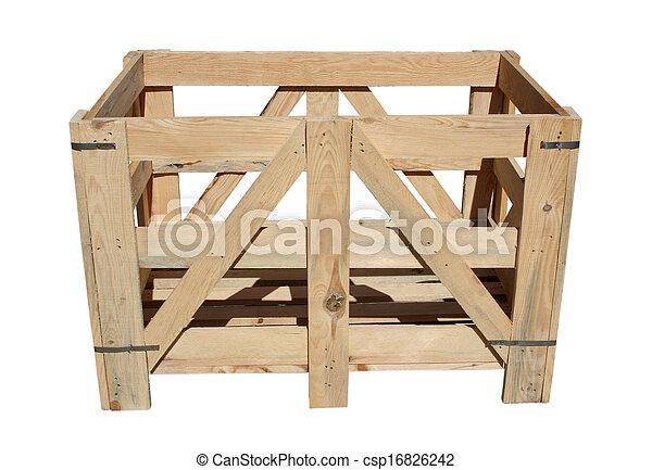 Wooden box - csp16826242
