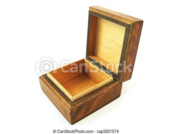 wooden box - csp3201574