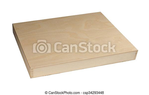 Wooden box - csp34293448
