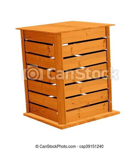 Wooden box - csp39151240