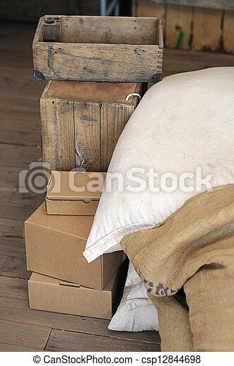Wooden box - csp12844698