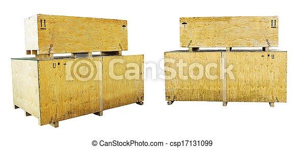 Wooden box - csp17131099