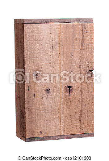 wooden box - csp12101303