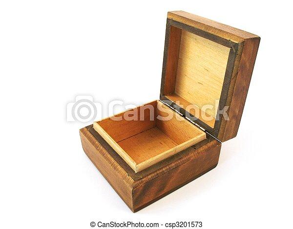 wooden box - csp3201573