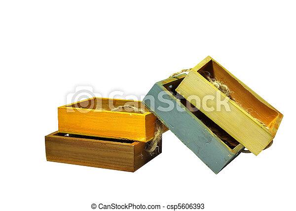 Wooden box - csp5606393