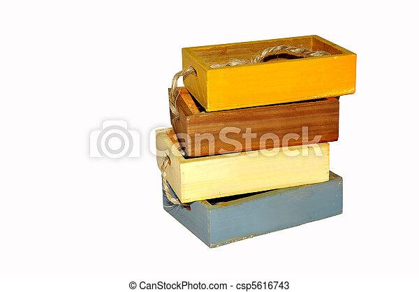 Wooden box - csp5616743