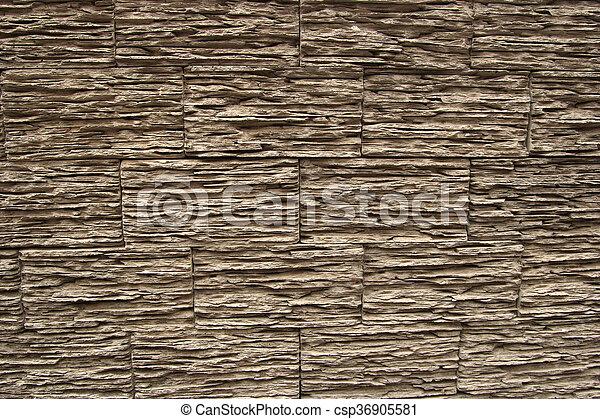 Wooden bricks texture