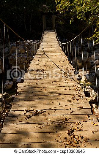 Wooden Bridge - csp13383645