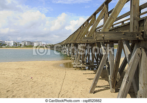 wooden bridge - csp8520662