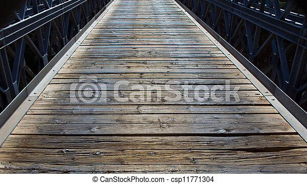 wooden bridge - csp11771304