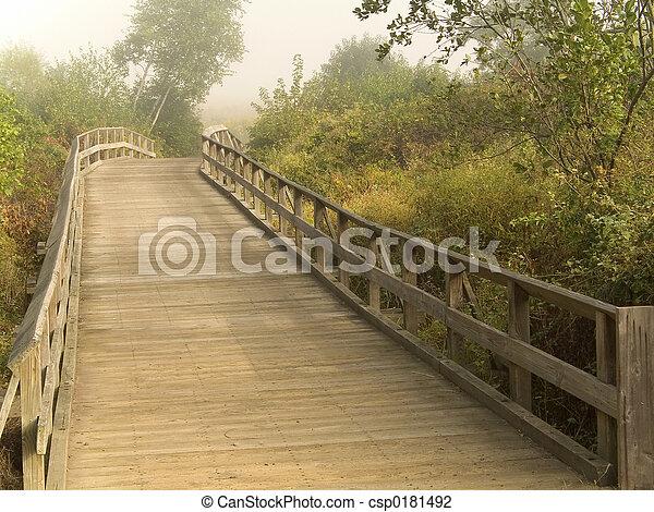 wooden bridzs - csp0181492