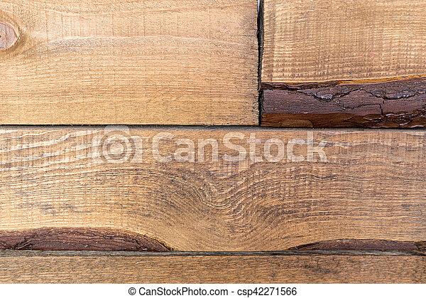 wooden brown background - csp42271566