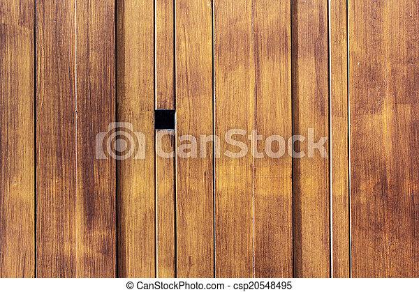 Wooden brown background - csp20548495