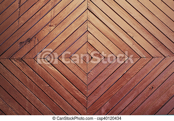 Wooden brown background texture - csp40120434