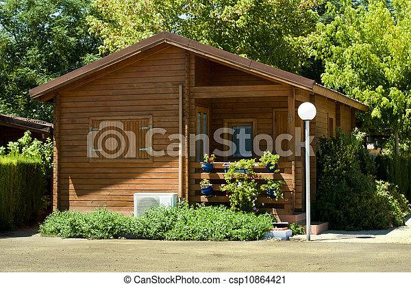 Wooden bungalow - csp10864421