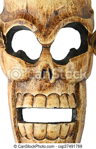 How to carve a large skull and colt crossbones relief style