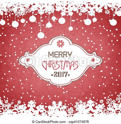Wooden Christmas And New Year Grunge Background - csp41074978