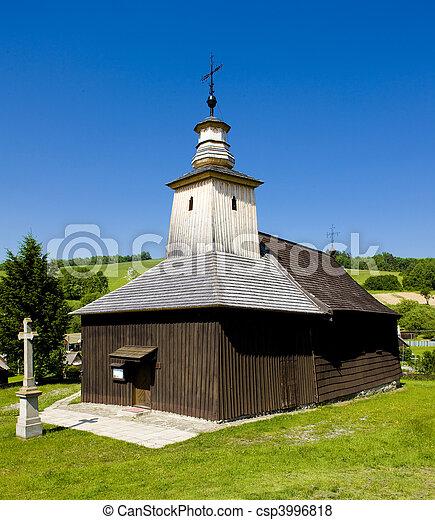 wooden church, Krive Slovakia - csp3996818