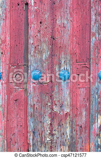 Wooden door background - csp47121577