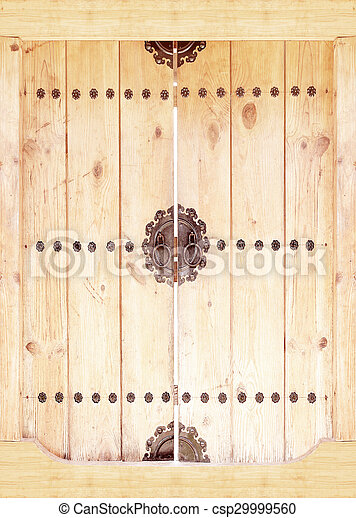wooden door background - csp29999560